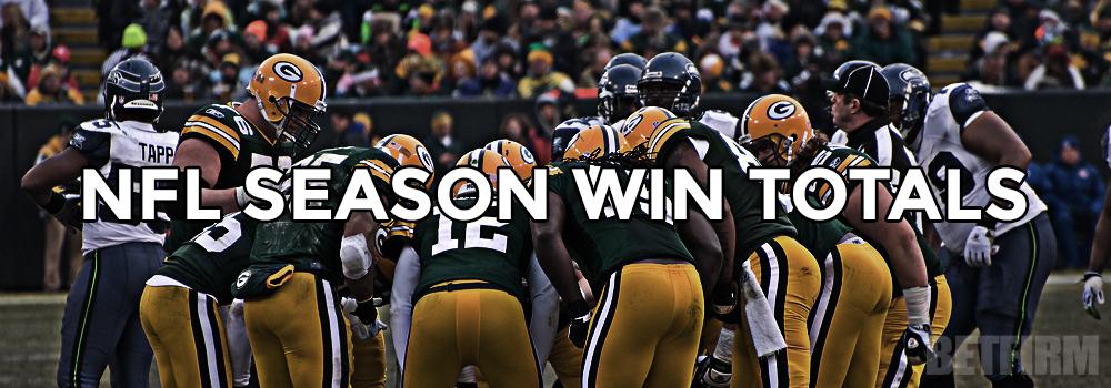 NFL Over Under Win Totals